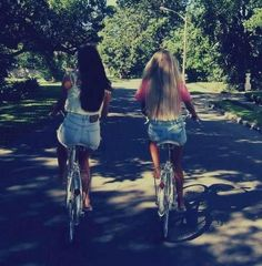 i thought of us @Sierra Dennis . i hope we get our bikes back soooon