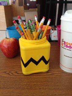 Peanuts Pencil Holder