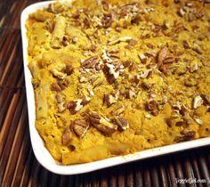 Pumpkin Baked Ziti..vegan.