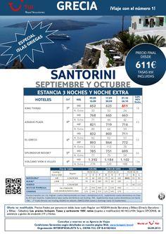¡Especial islas griegas! Estancia en SANTORINI salida Septiembre y Octubre. Precio final desde 611€ - http://zocotours.com/especial-islas-griegas-estancia-en-santorini-salida-septiembre-y-octubre-precio-final-desde-611e-9/