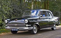 1955 Opel Kapitan 2.4L Straight-6 Cylinder 75bhp Engine (Photo by Clay)