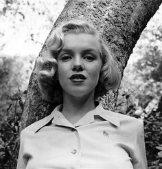 a young Monroe by Eve Arnold