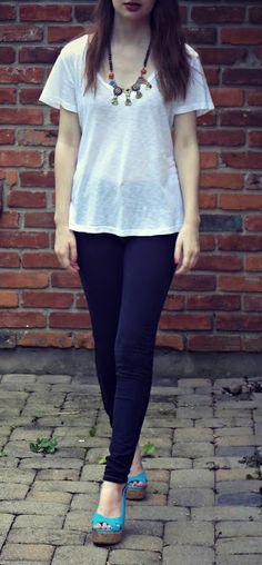 jeans + tee