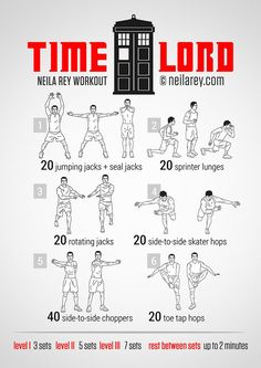 Time Lord Workout