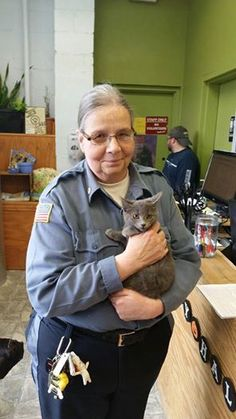 Congrats on your new home Colossus! Please come to LHS during open hours to meet tons of adoptable kittens.