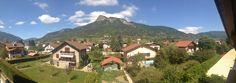 Vue de nos montagnes depuis les chambres