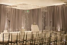 victoria clausen of @Victoria Clausen Florals  Florals. Events. Design.  Baltimore, MD  Acrylic Chuppah Jewish Wedding Ceremony