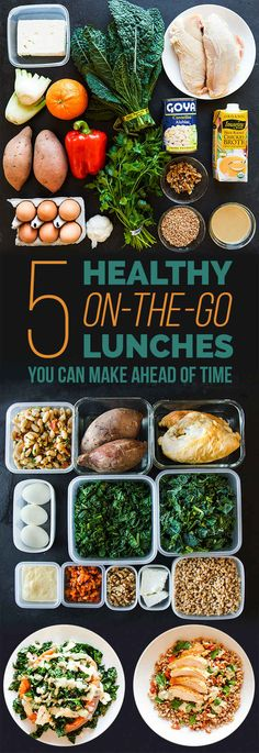 Here's Exactly How To Meal Prep For Lunch This Week