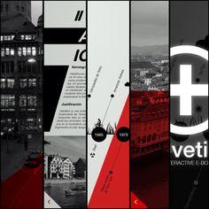 Timeline & History E-Book by martin liveratore, via Behance
