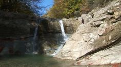 """This is """"Terapia antistress la Chiojdu, Buzau"""" by bonni vali on Vimeo, the home for high quality videos and the people who love them. Turism Romania, Waterfall, Bucket, Country Roads, Places, Outdoor, Therapy, Outdoors, Waterfalls"""