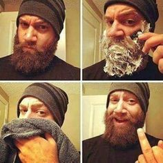 When people tell you to shave your beard so you cut them from your life because who needs that kind of negativity! Beard Boy, Beard Game, I Love Beards, Great Beards, Best Beard Styles, Hair And Beard Styles, Moustache, Beard Quotes, Beard Humor