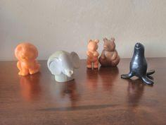 Animales del zoo de Pin y Pon