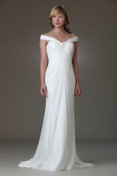 Netting and Tulle, Silk Chiffon & Charmeuse,Draped, Sweetheart,Sheath - Ballet | Designer Wedding Dresses | Amy Kuschel Bride | Couture Brid...