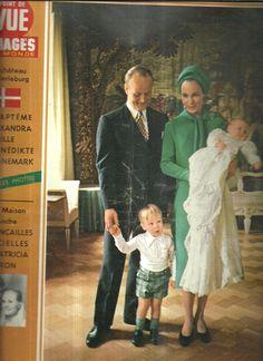 Point de vue N ° 1183 bapteme d'Alexandra fille de Benedikte de Danemark fr.picclick.com