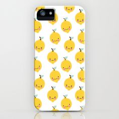 Lemon iPhone & iPod Case by Eef Lillemor - $35.00