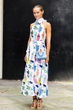 Street Style : Best London Fashion Week Street Style Spring 2015
