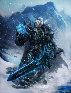 Blizzard's Newest WoW Fan art - Death Knight - iMMOsite get your gaming life recorded - my.mmosite.com