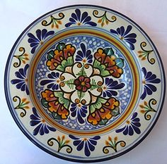 9 Inch Mexican Talavera Puebla Certified Soup Bowl Plate By Alonso Luis Alonso Luis http://www.amazon.com/dp/B00Y265Y7M/ref=cm_sw_r_pi_dp_ZcW9wb0WTGCD6