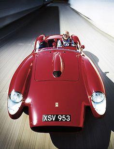 Ferrari Enzo driven by Dr Darius Ahrabian