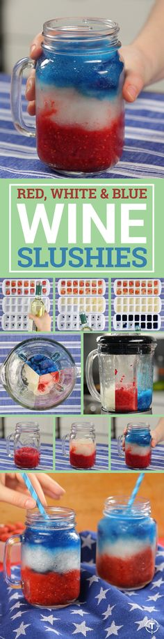 Celebrate Memorial Day Weekend the right way, outside in the sunshine with this easy-to-make four-ingredient wine slushy in hand. The only thing more patriotic than A Turtle's Life For Me's blended red, white, and blue concoction is the Electoral College.