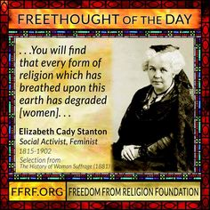 Atheism, Free Thought, Reason, Skepticism, Logic, Secularism, Science, Anti-theist, Women's Rights