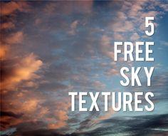 5 free sky textures