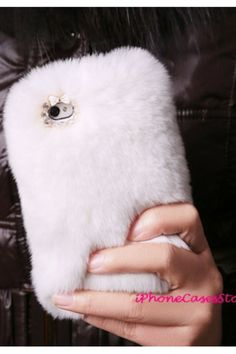Furry phone case!  This would be fun for about 2 seconds... until you get food, oil, dirt or anything/everything on it.  haha