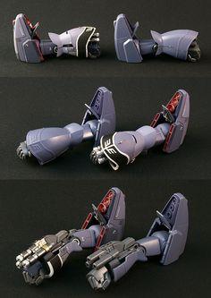 AMX-009 DREISSEN Unicorn ver. Custom HG 1/144