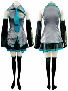 Vocaloid Hatsune Miku Costume, Vocaloid Cosplay Costumes, Cosplay Costumes