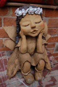 víla Velká víla do zahrady,výška 40cm,materiál kamenina
