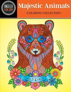 Hello Angel Majestic Animals Coloring Collection by Angelea Van Dam http://www.amazon.com/dp/1497201446/ref=cm_sw_r_pi_dp_g8yNwb18H09BE