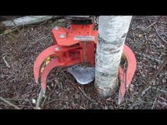 Tree Logs, Tractor Attachments, Fire Wood, Heavy Equipment, Crane, Garden Tools, Safety, Youtube, Shop