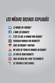 Humour: les médias sociaux expliqués #médiasosiaux