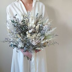 Dried Flowers Bouquet Dried Rose Petals For Bath Dried Plumeria Flowers Perennial Plants For Dry Sunny Areas Bridal Bouquet Blue, Dried Flower Bouquet, Hand Bouquet, Bride Bouquets, Bridal Flowers, Dried Flowers, Gypsophila Wedding, Plumeria Flowers, Dried Flower Arrangements