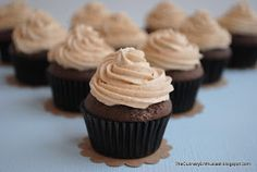 The Culinary Enthusiast: Mocha Cupcakes with Espresso Buttercream Frosting