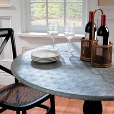 Metallic Embossed Fitted Table Covers