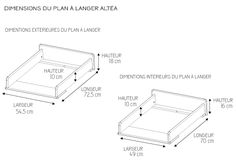 Plan à langer Simba capupccino - Charmian Safhill Baby Changing Tables, Changing Table Dresser, Nursery Room, Baby Room, Plan A, How To Plan, Baby Changer, Baby Must Haves, Bedroom Decor