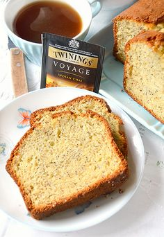 Cake al limone con yogurt greco e semi di papavero (all'olio)