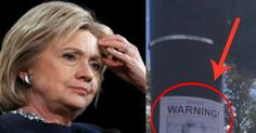 Hillary Gets Slapped In The Face By Bold 'Warning' Signs Seen Near Debate