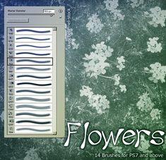 Flower Brushes by kuschelirmel-stock.deviantart.com