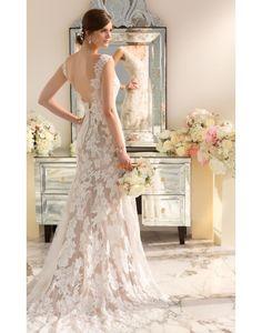 Plage / Destination Traîne moyenne Chic & Moderne Robes de mariée 2014