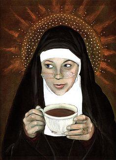 """Mary's Habit Irish Creme Roasted Coffee""..."