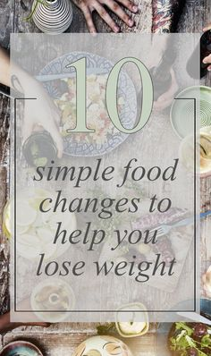 Eating is such a basic and pleasurable part of our lives that we often do it mindlessly. Here are a few changes you can make that will help you lose weight.