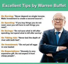HELVER Mayorga Cazares: Tips Dari Warren Buffett Untuk Pekerjaan Dan Kehidupan Anda