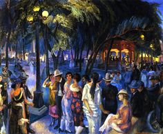Hosted by imgur.com  Music in the Plaza (Santa Fe) 1920, John French Sloan