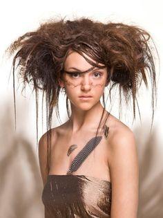 Ihloff Creative Team Birds Nest Hair. #Aveda #Ihloff