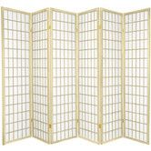 "Found it at Wayfair - 70"" x 84"" Window Pane Shoji 6 Panel Room Divider"