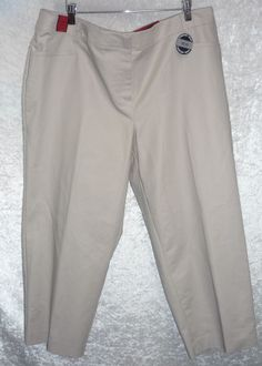 Apt 9 Women's Capri pants Straight Comfort Waist solid Plus size 24W NEW  19.99 http://www.ebay.com/itm/Apt-9-Womens-Capri-pants-Straight-Comfort-Waist-solid-Plus-size-20W-24W-NEW-/231360032689?