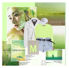 """""""Radiance of the greenery"""" by rainie-minnie ❤ liked on Polyvore featuring Acne Studios, Sies Marjan, Monsoon, Franklin & Marshall and Golden Goose"""