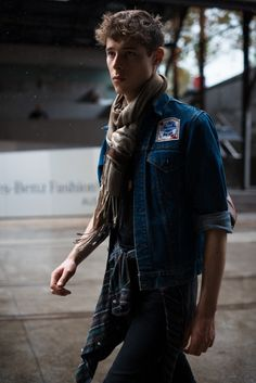 Street Style. Photo by Giuseppe Santamaria.  menswear mnswr mens style mens fashion fashion style streetstyle